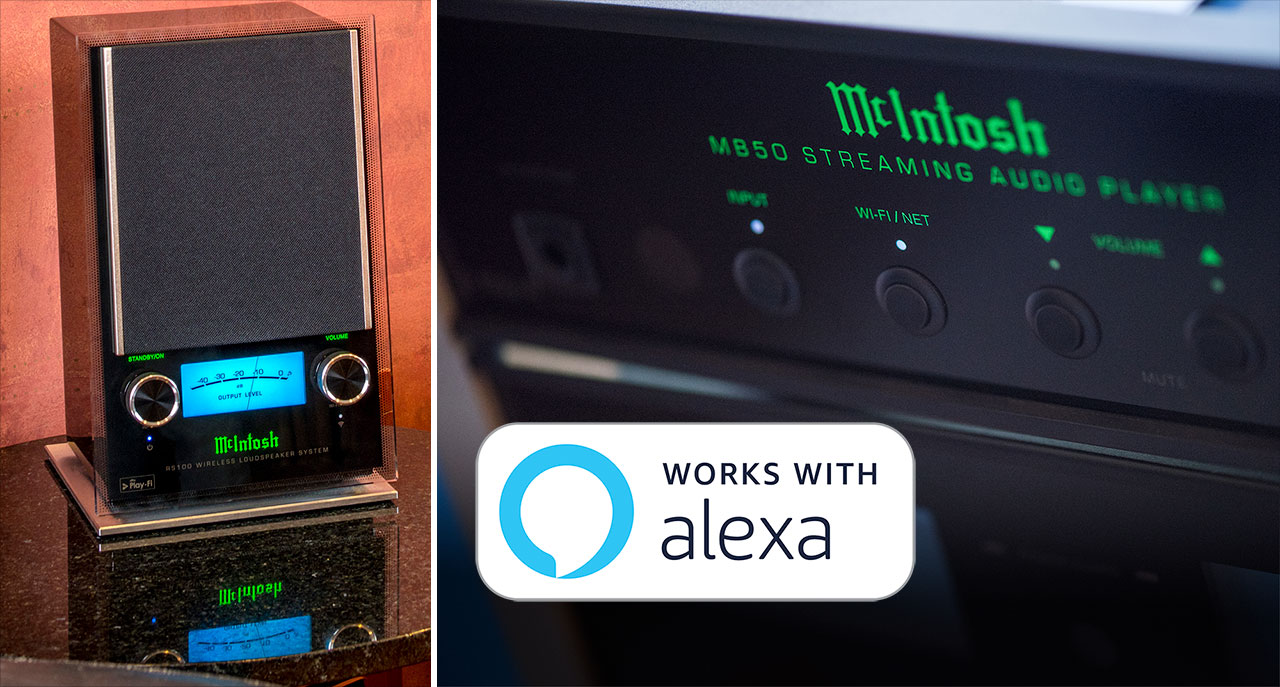 McIntosh Play Fi Alexa