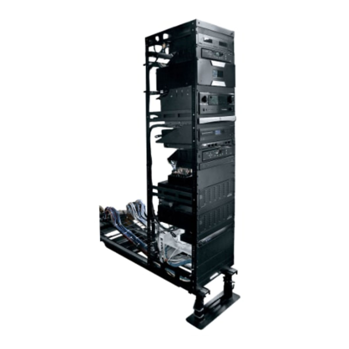 AXS In-Wall Slide Out Rack Series