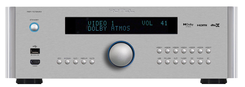 Procesador y amplificador surround multicanal de Rotel