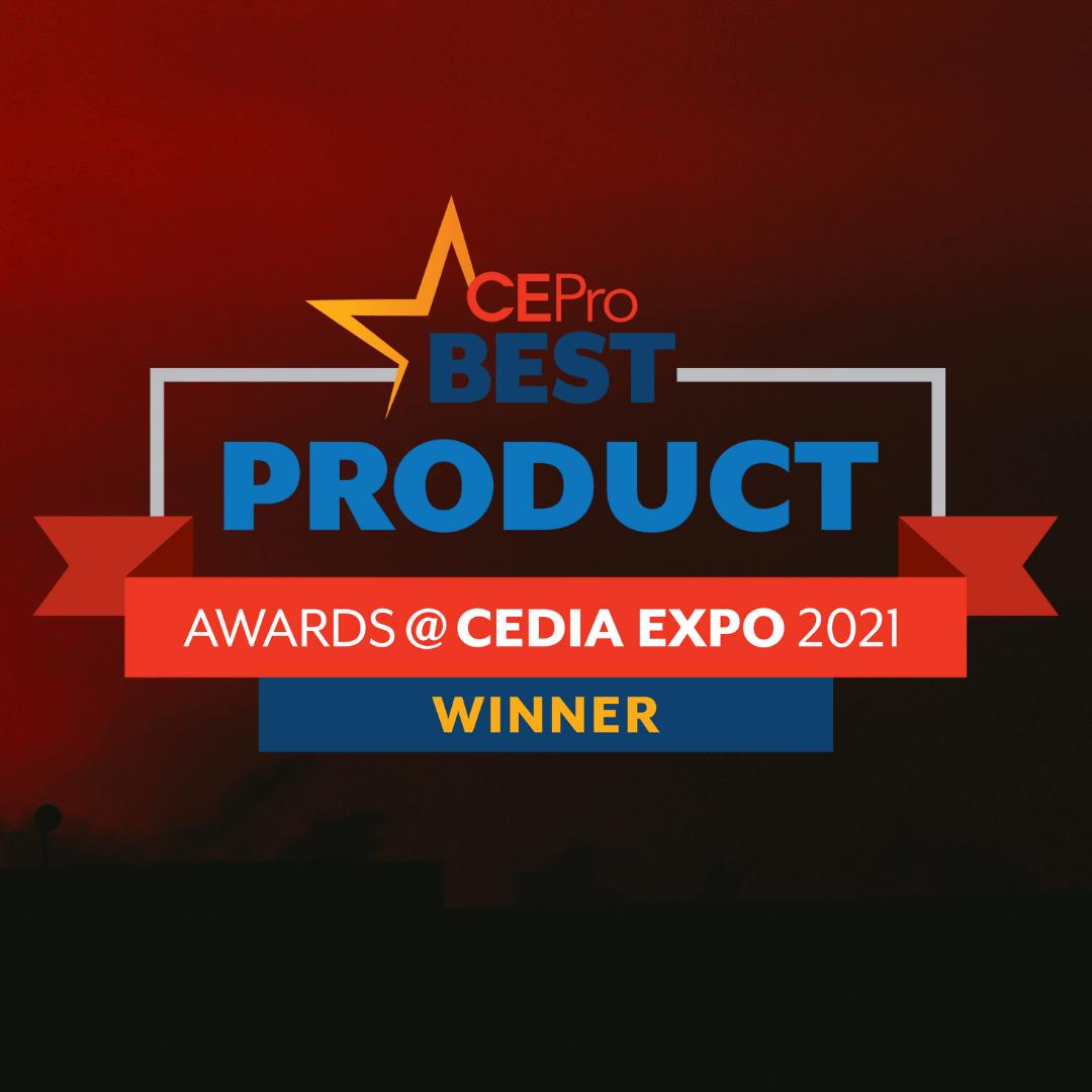 Ganadores de lo mejor en tecnología de CEDIA EXPO 2021